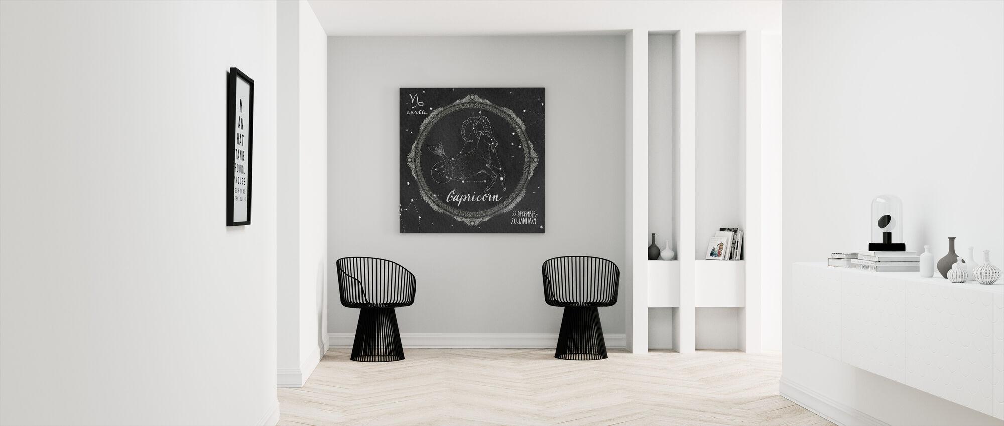 Night Sky Capricorn - Canvas print - Hallway