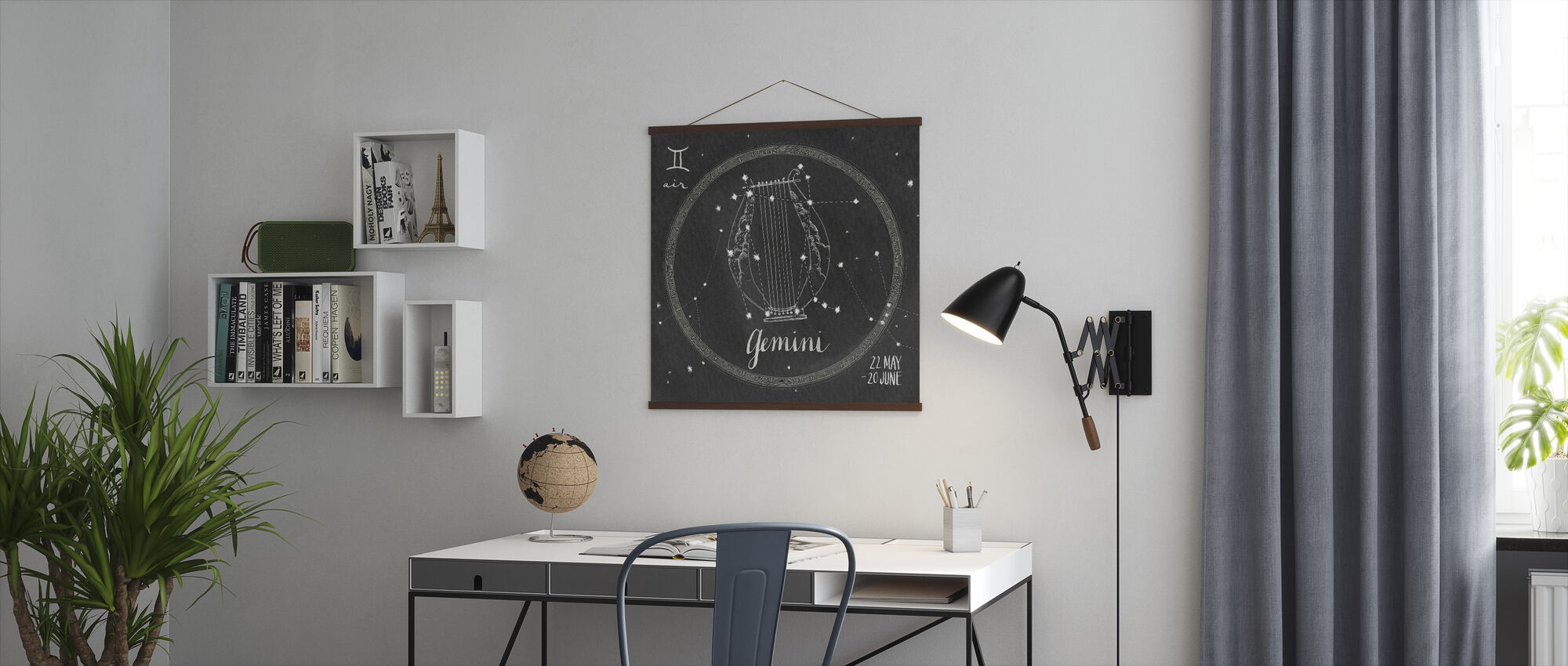 Night Sky Gemini - Poster - Office
