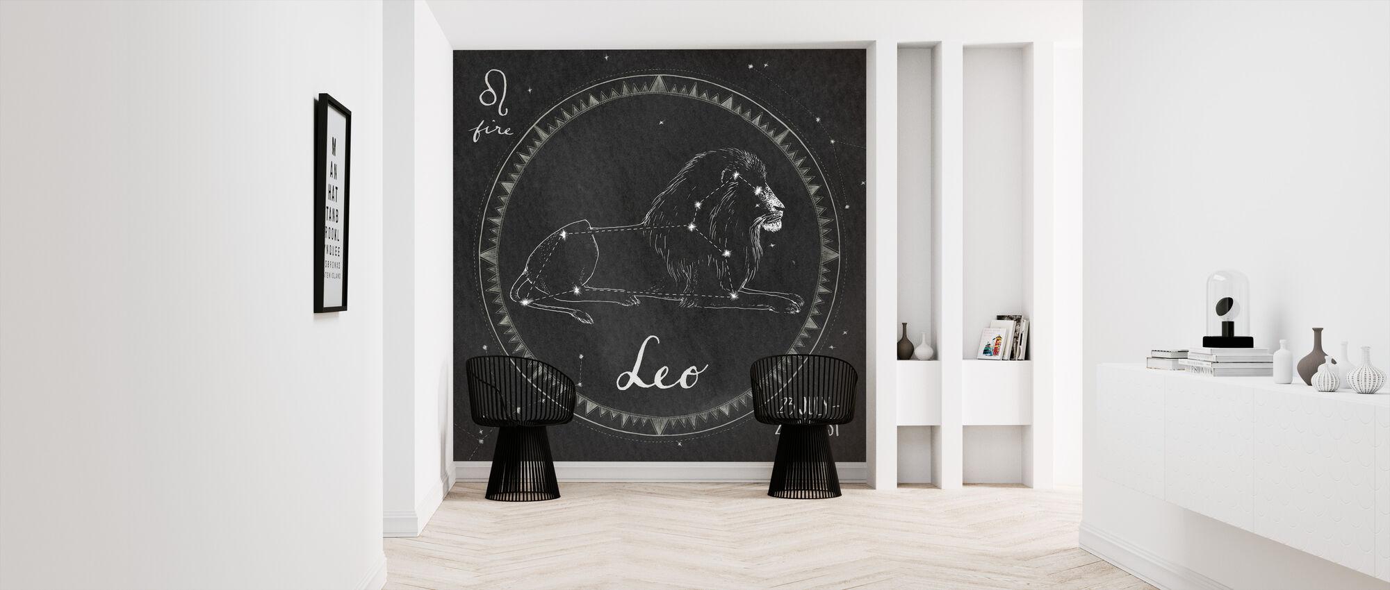 Night Sky Leo - Wallpaper - Hallway