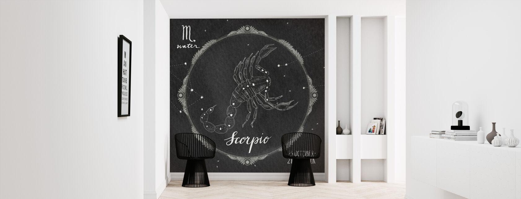 Night Sky Scorpio - Tapet - Gang
