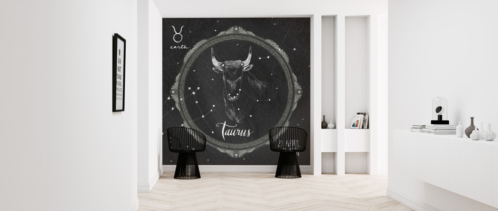Night Sky Taurus - Wallpaper - Hallway