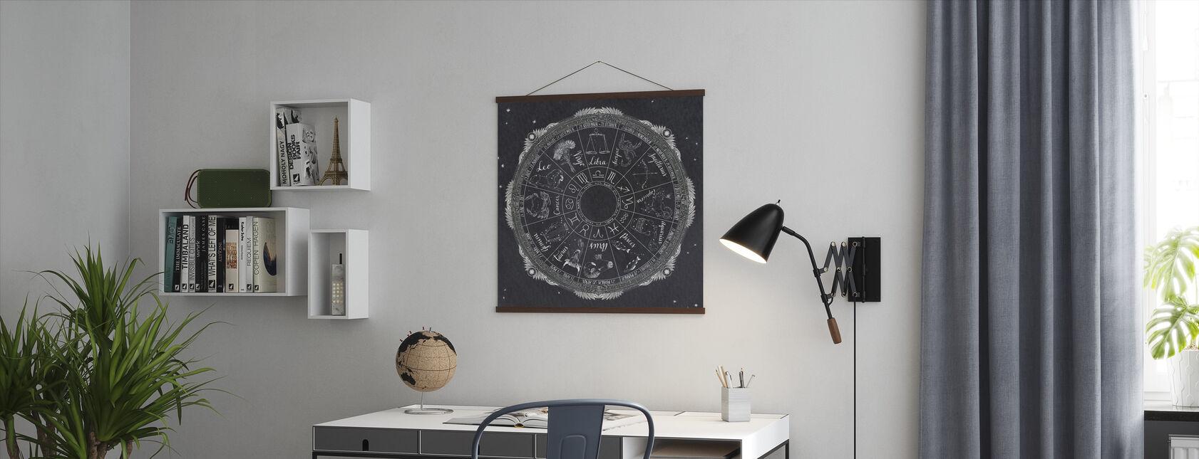 Nattehimmel Zodiac - Plakat - Kontor