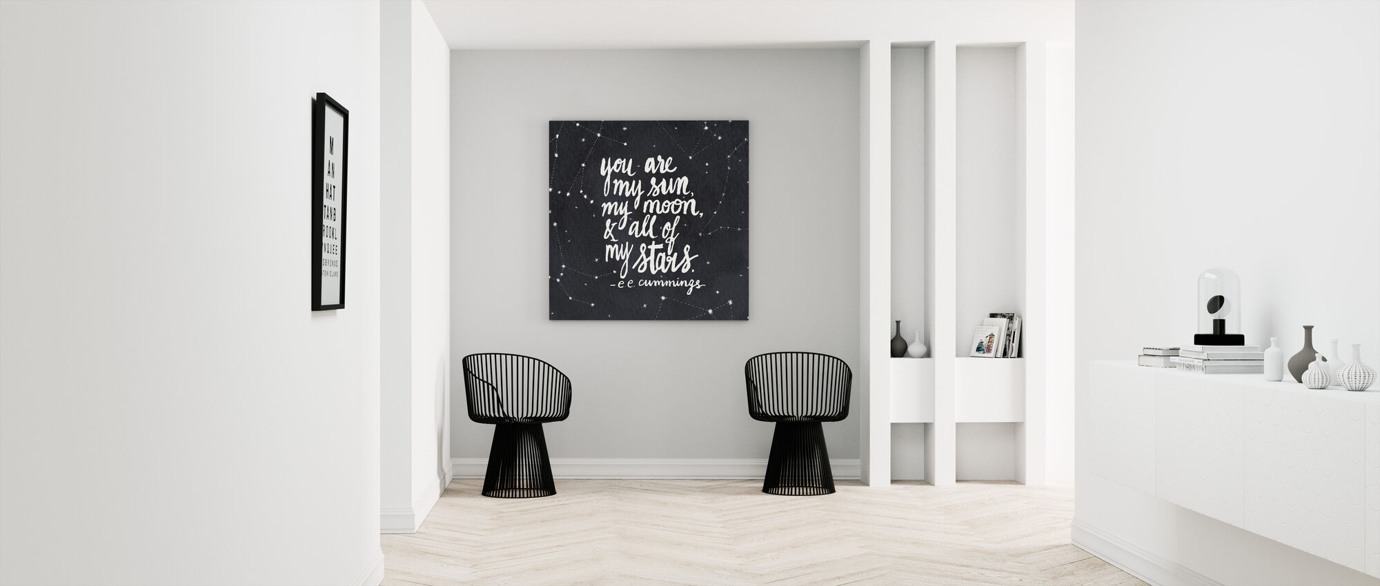 You Are My Sun - Canvas print - Hallway