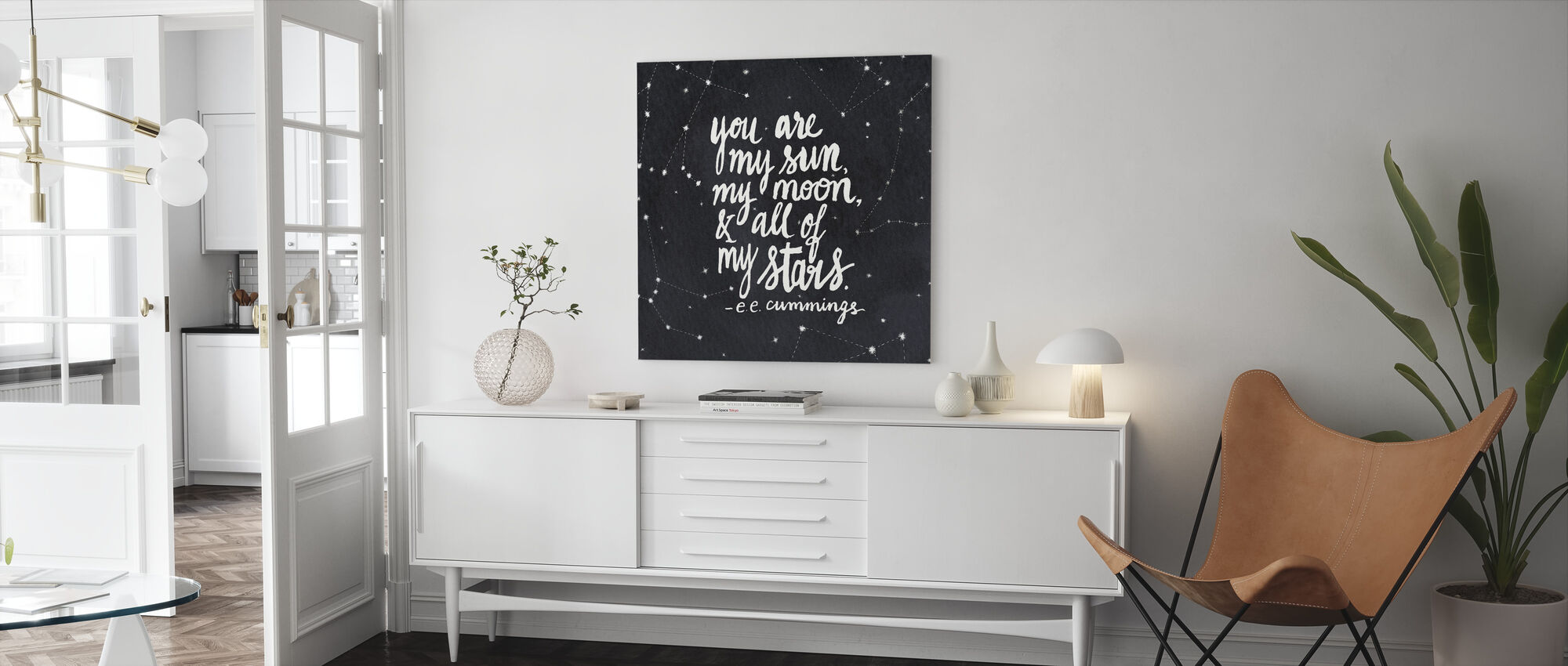 You Are My Sun - Canvas print - Living Room