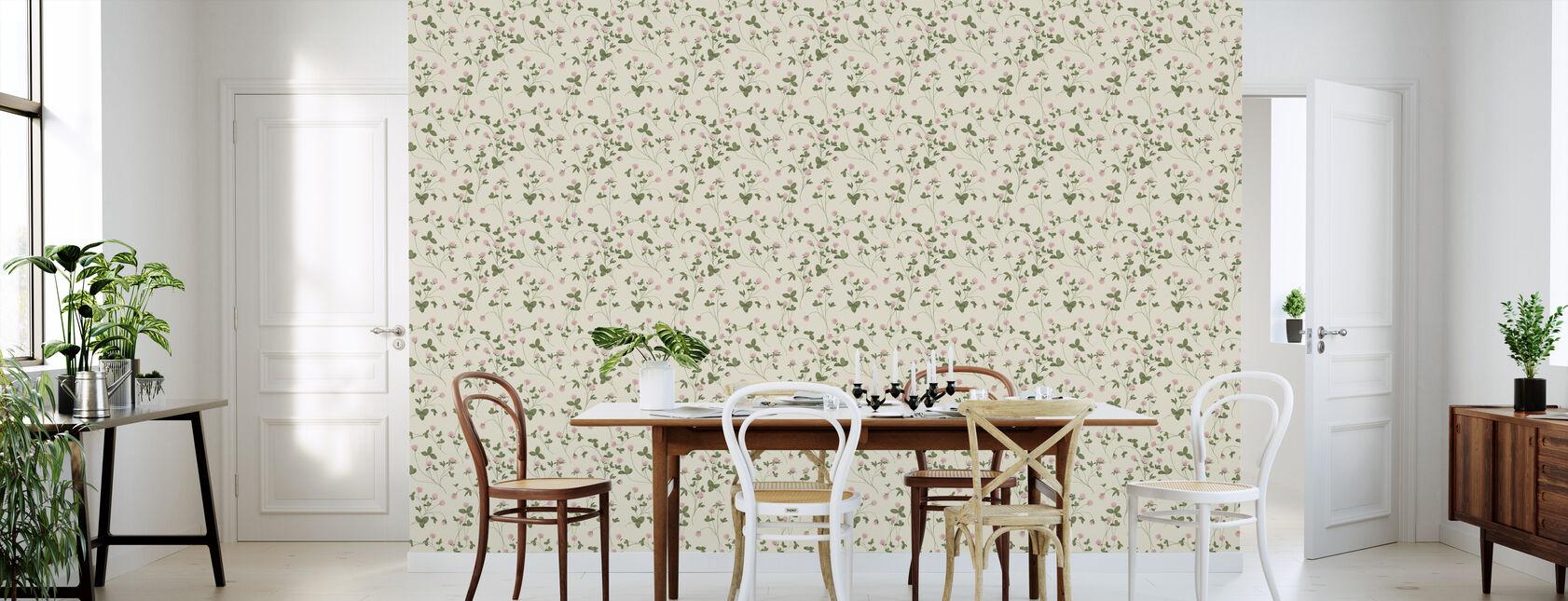 Clover Vanilla - Wallpaper - Kitchen