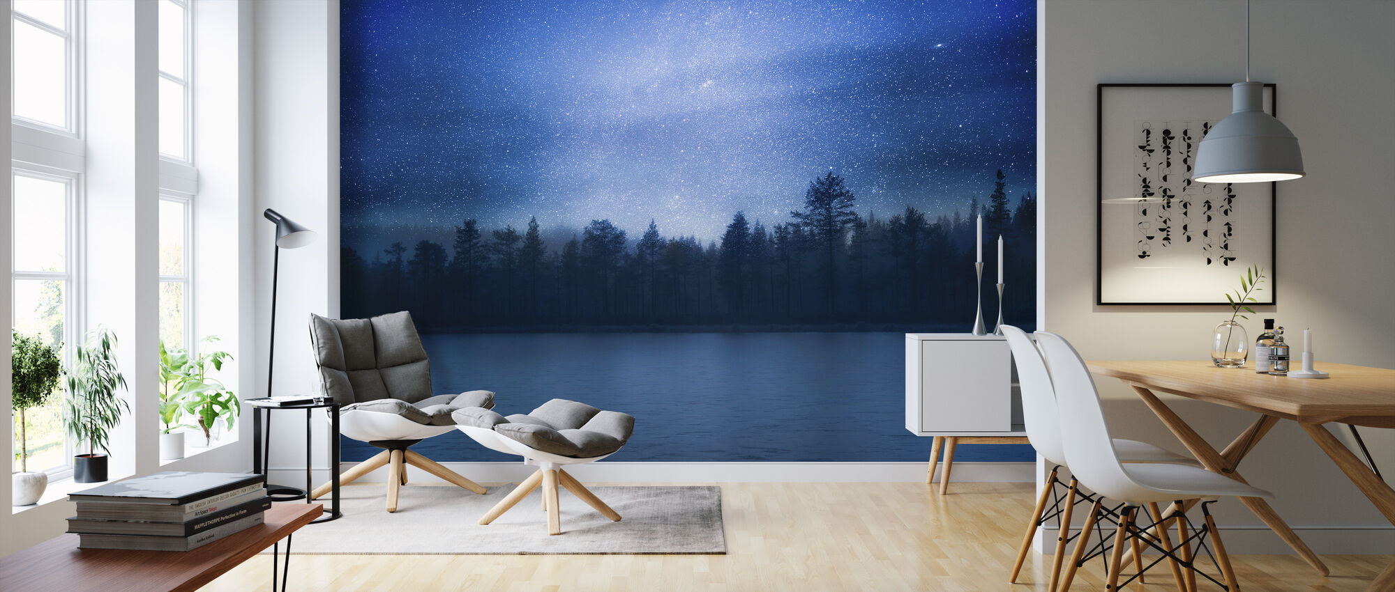 Andromeda - Wallpaper - Living Room
