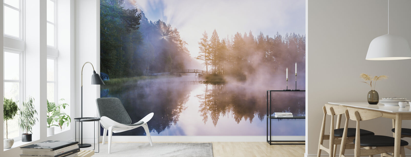 Ethereal - Wallpaper - Living Room