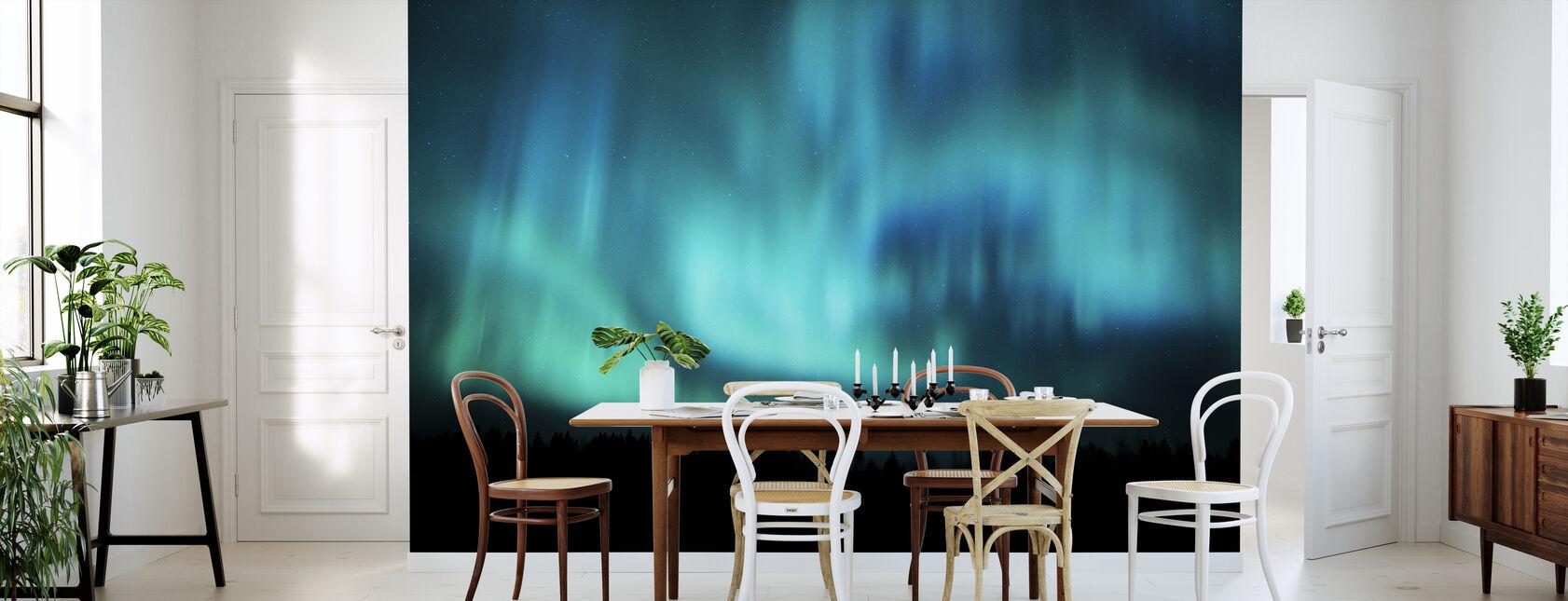 Northern Lights - Wallpaper - Kitchen