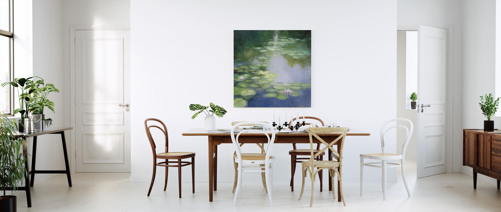 Blue Lily I - Canvas print - Kitchen