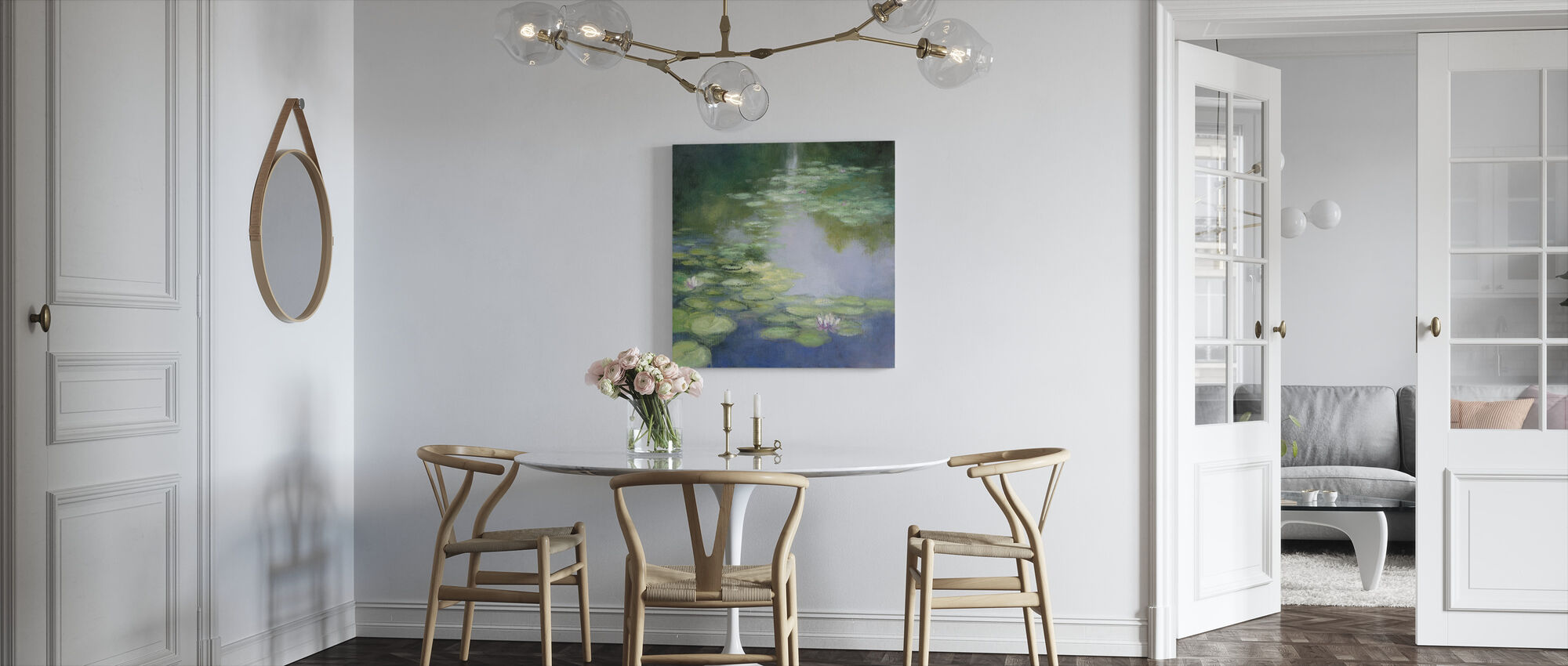 Blue Lily I - Canvas print - Kitchen