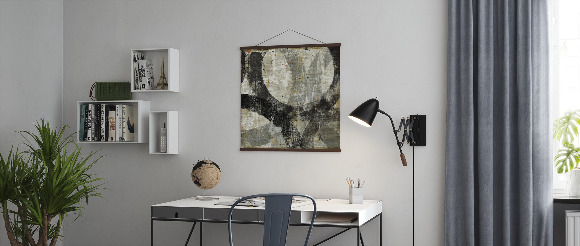 Geometric Abstract II - Poster - Office