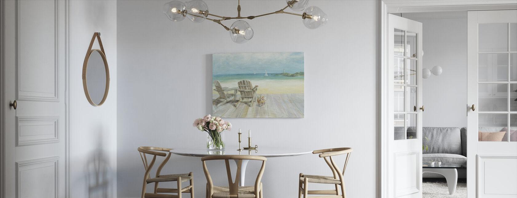 Uitzicht op de oceaan - Canvas print - Keuken