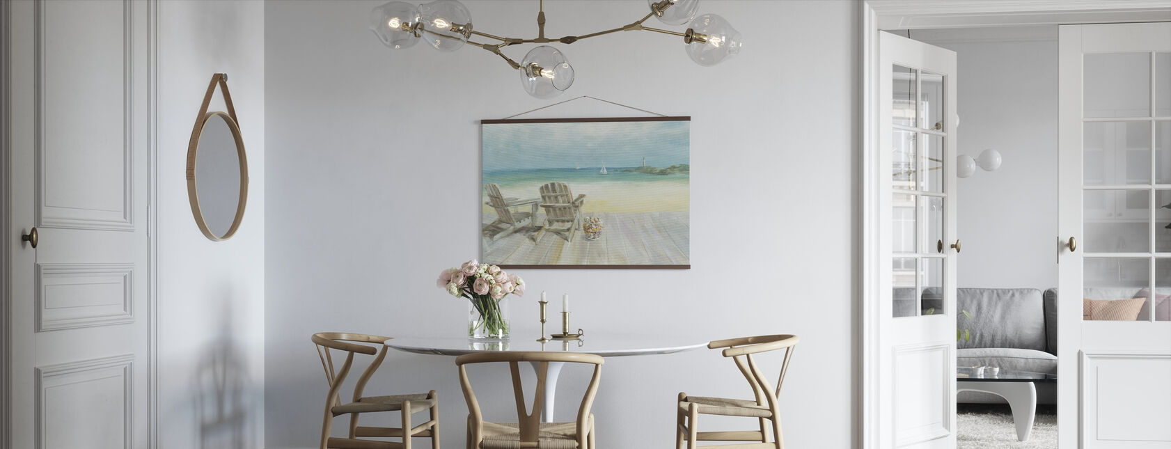 Ocean View - Poster - Kitchen