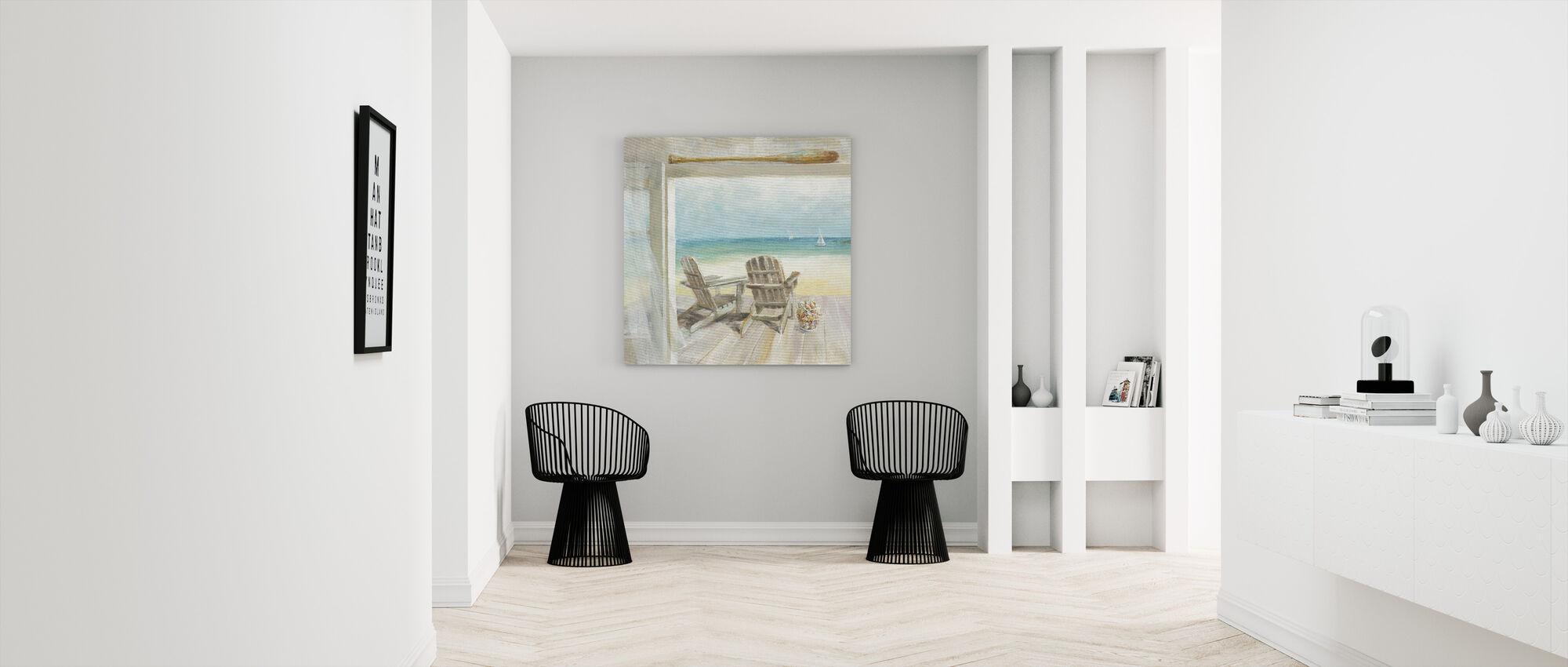 Seaside Morning - Canvas print - Hallway