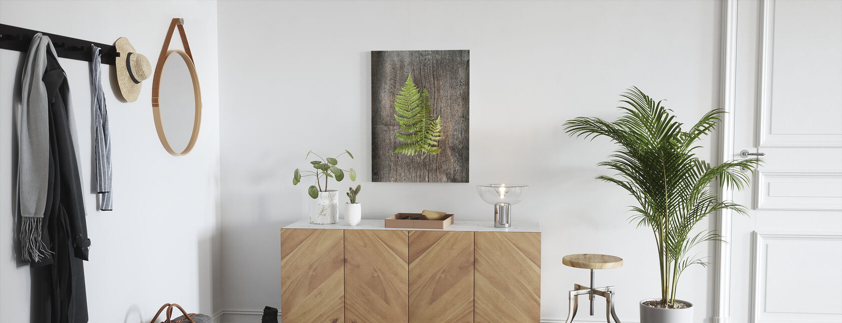 Woodland Fern - Canvas print - Hallway