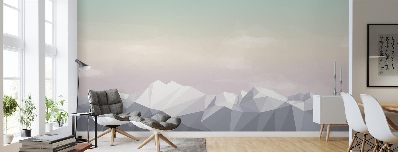 Meist Berge Icecream - Tapete - Wohnzimmer