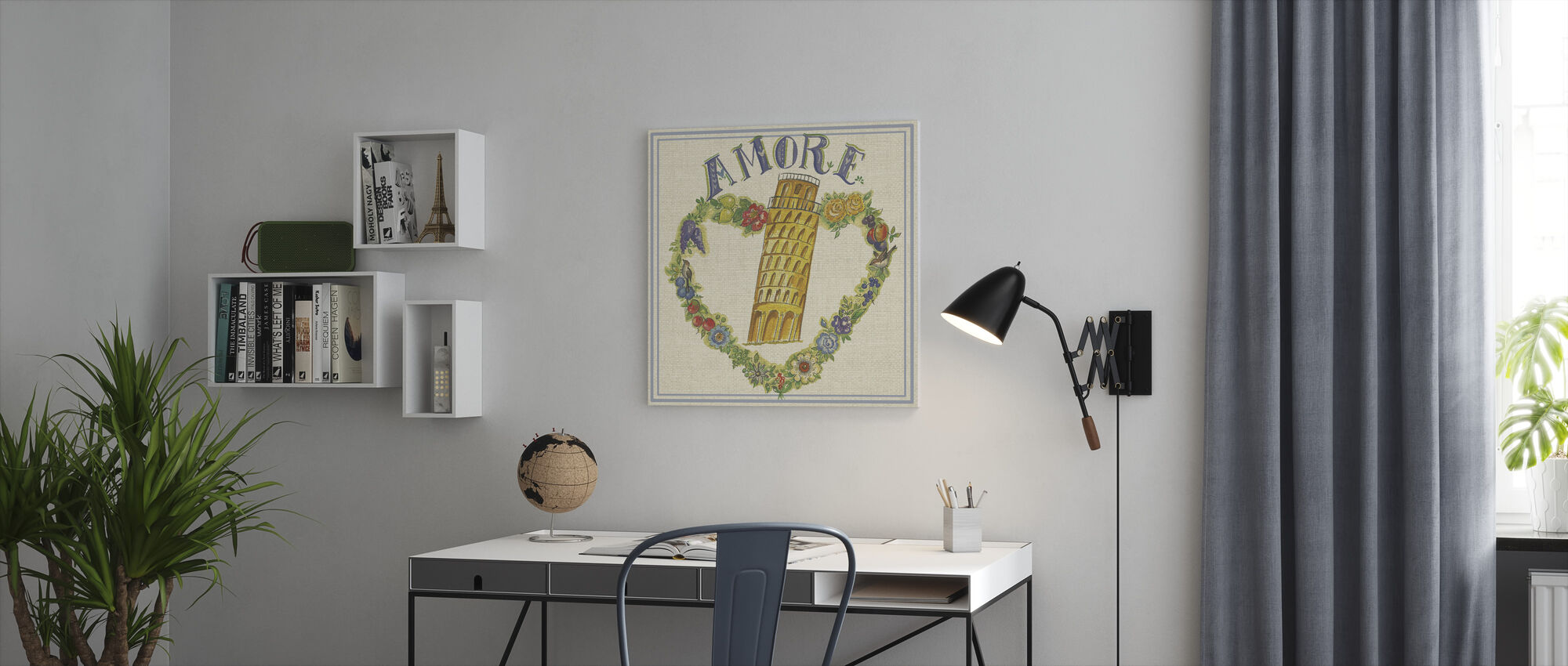 Travel Amore - Canvas print - Office