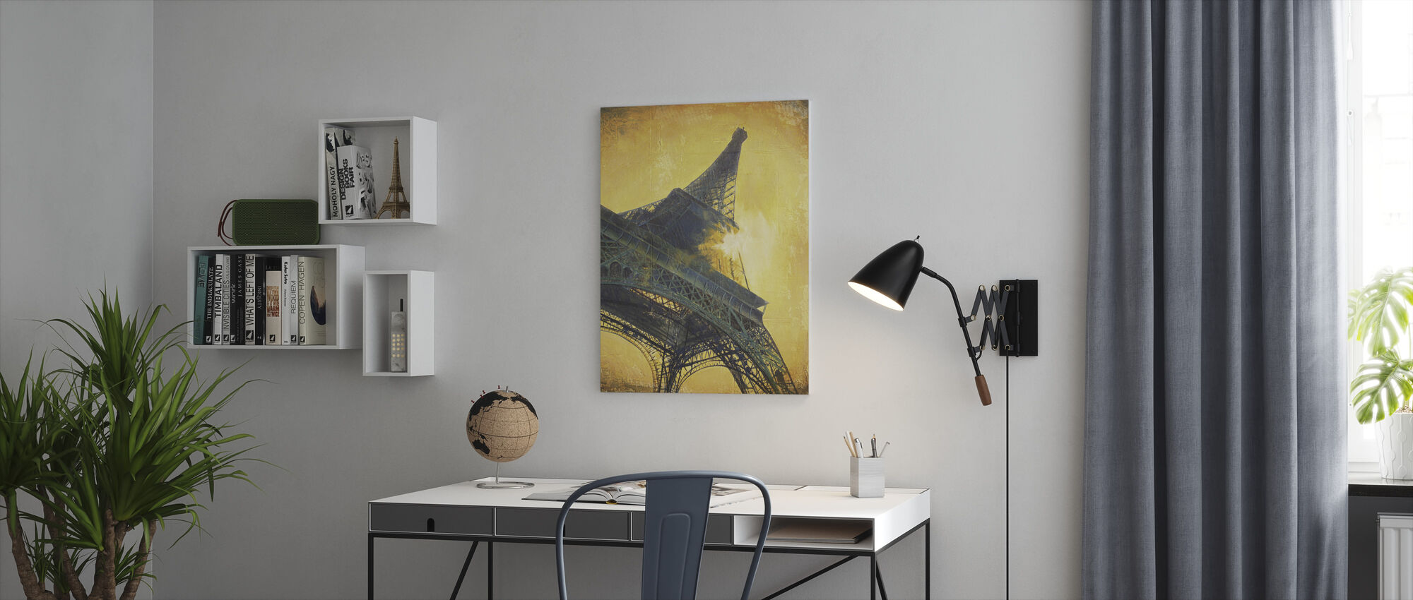 Paris at Sunset - Canvas print - Office