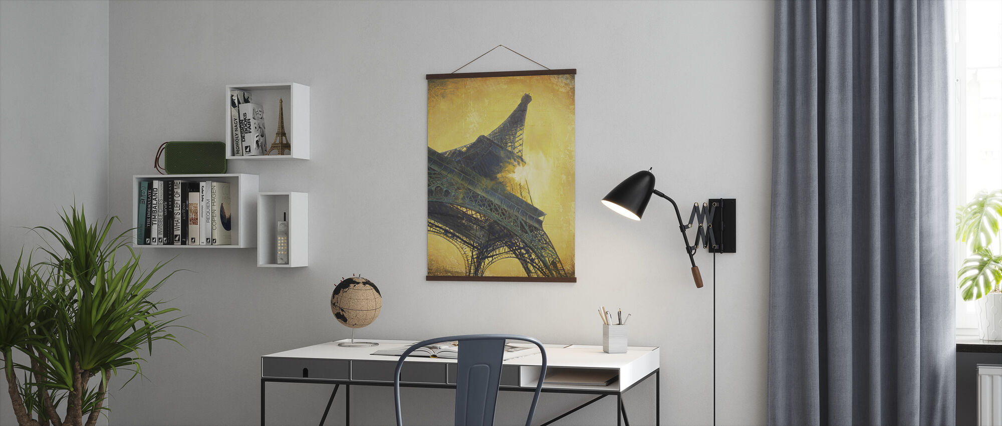 Paris at Sunset - Poster - Office
