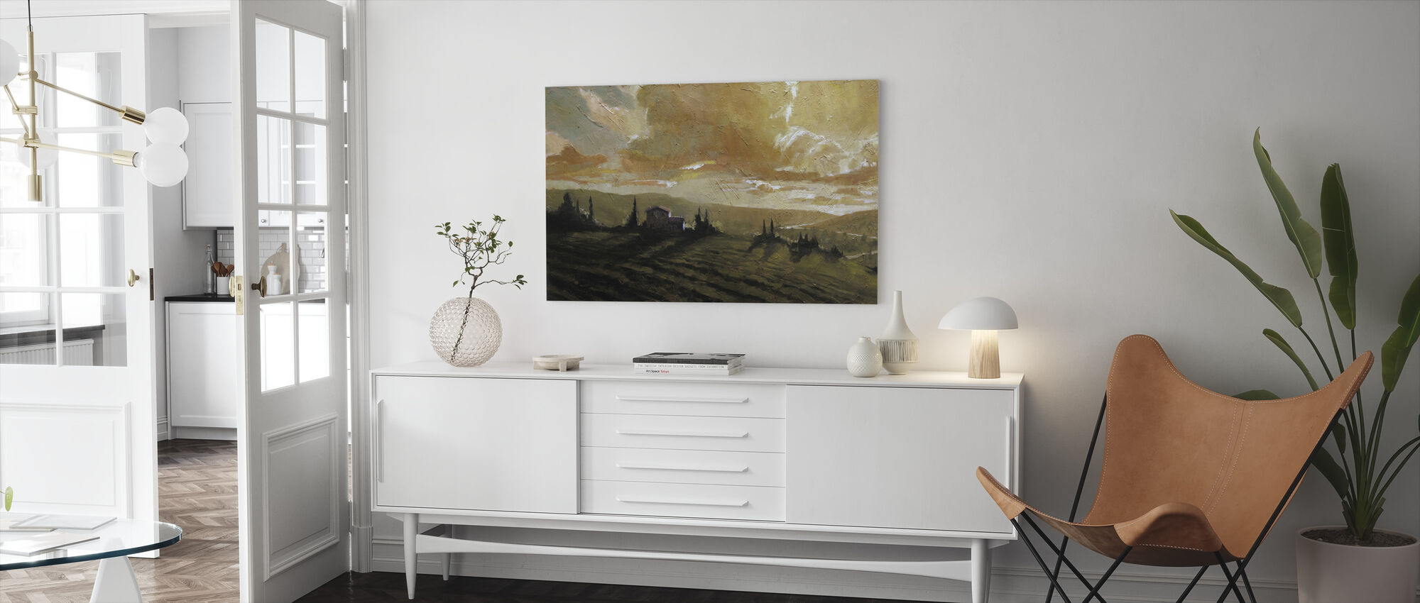 Tuscan Glow - Canvas print - Living Room