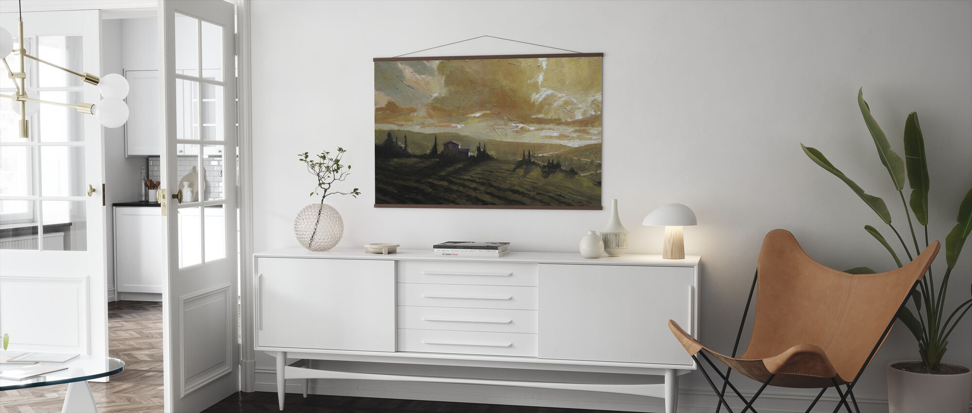 Tuscan Glow - Poster - Living Room