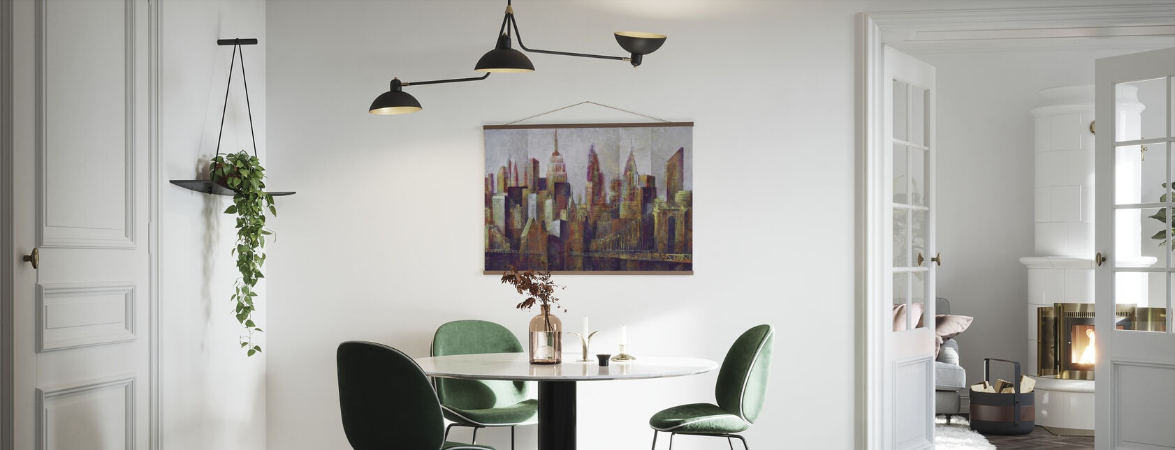 New York Skyline Art - Poster - Kitchen