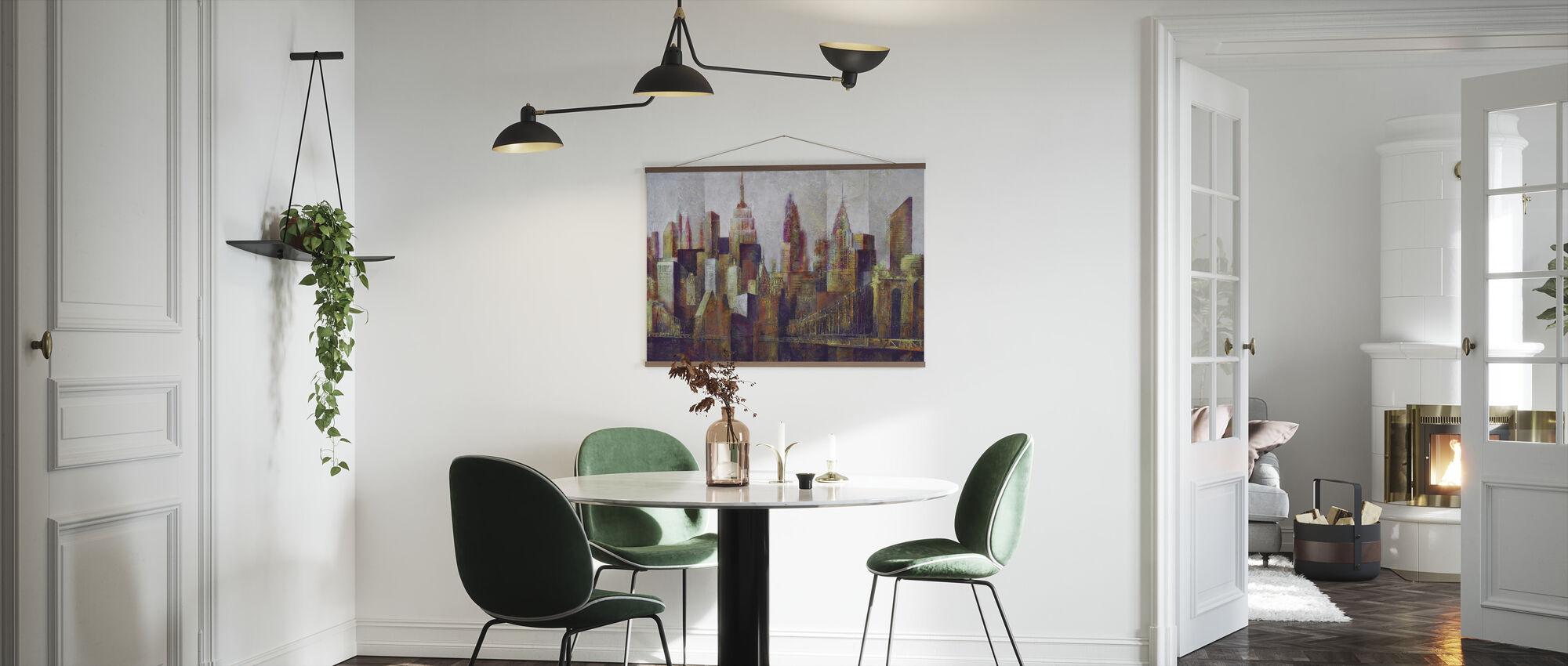 New York Skyline Art - Plakat - Kjøkken