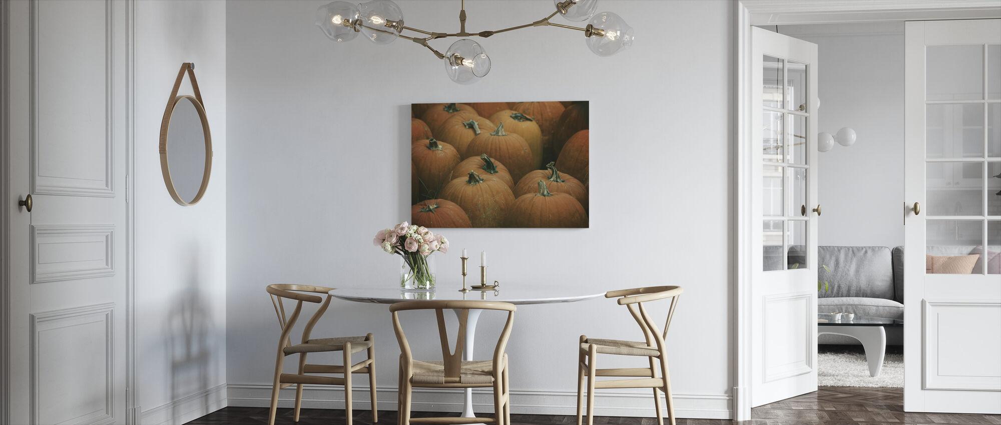Høst - Billede på lærred - Køkken