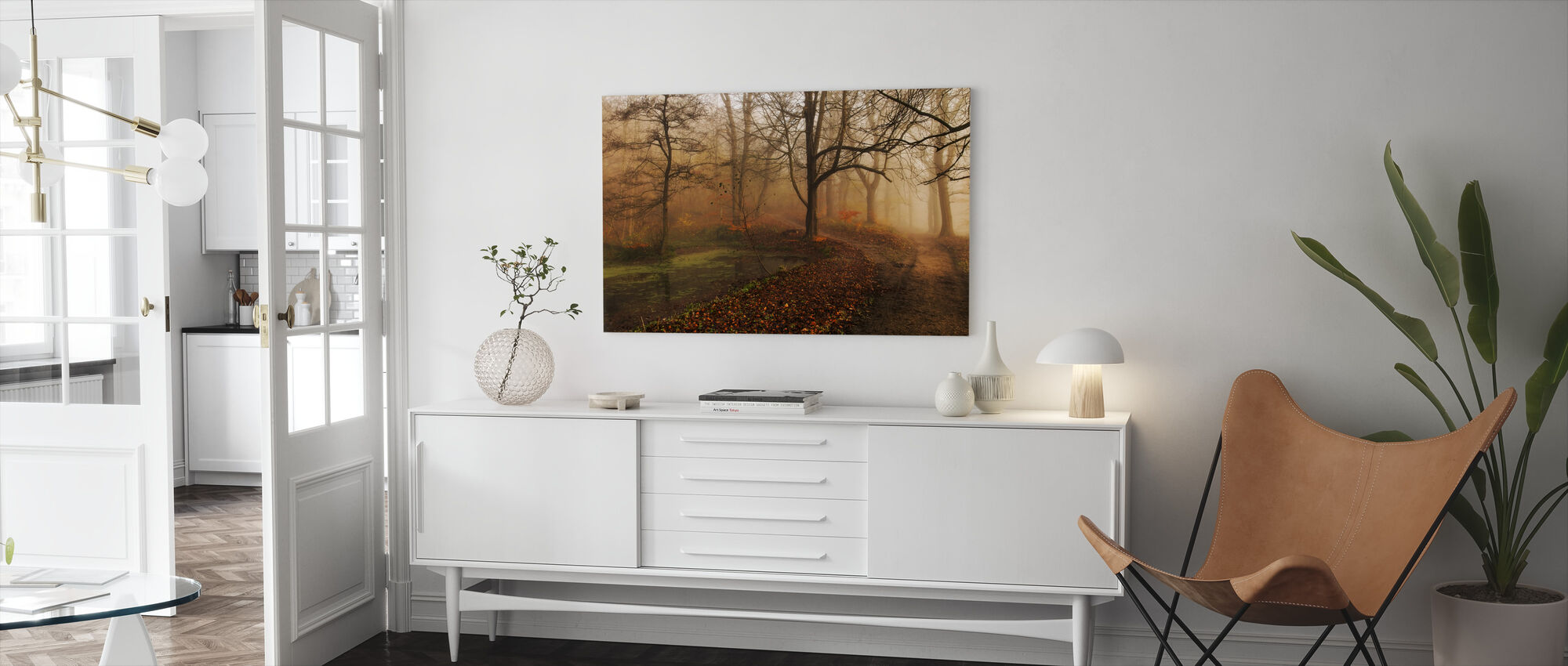 Which Path II - Canvas print - Living Room