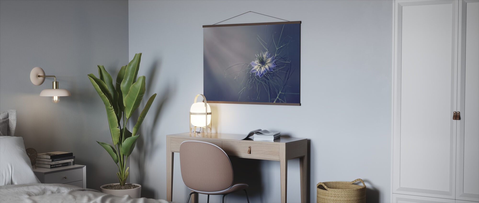 Prickly Blue - Poster - Office