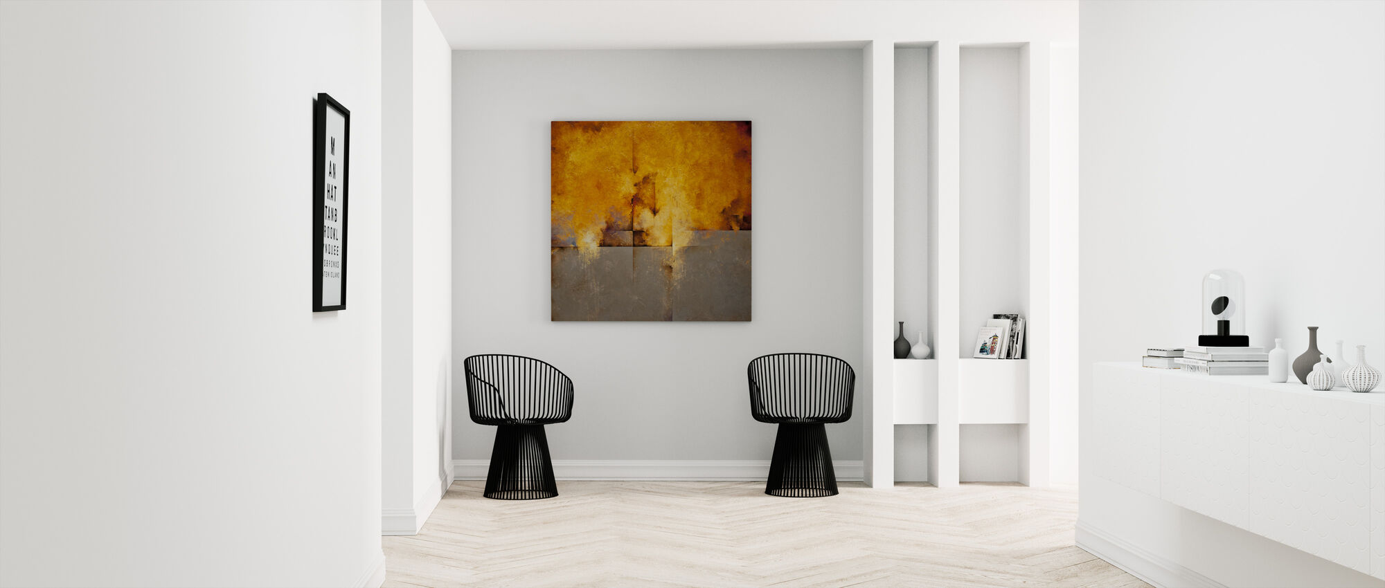 Lost Passage - Canvas print - Hallway