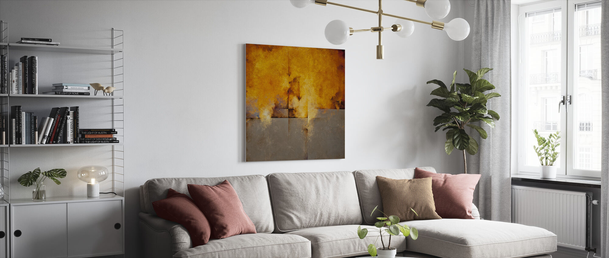 Lost Passage - Canvas print - Living Room