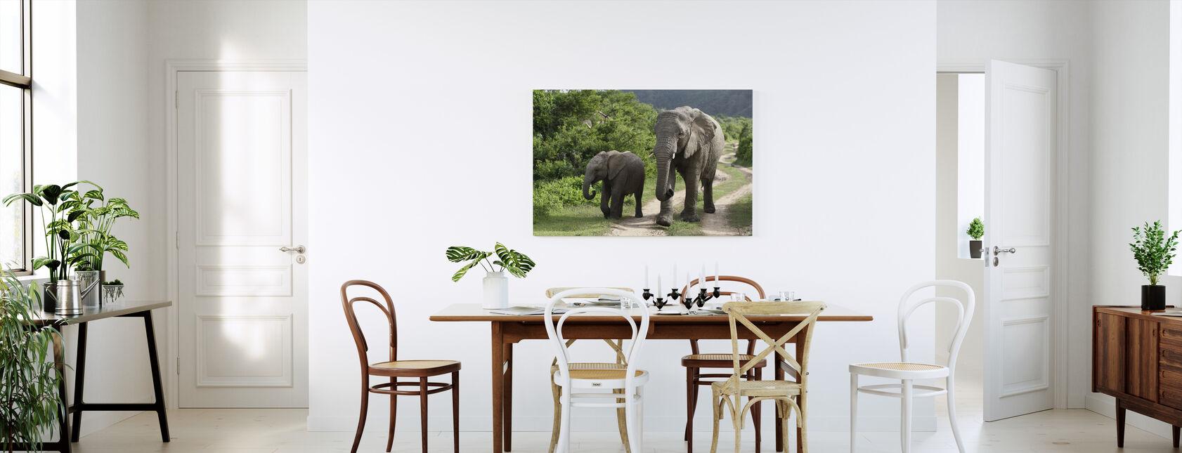 Jonge olifantjes