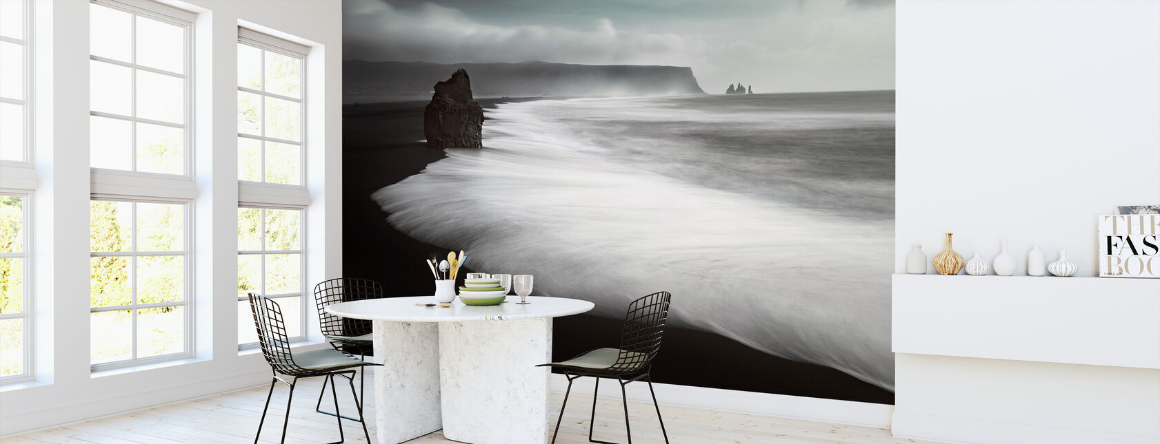 The Black Beach - Wallpaper - Kitchen