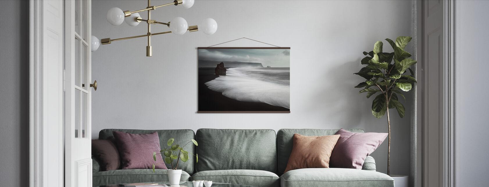 The Black Beach - Poster - Living Room