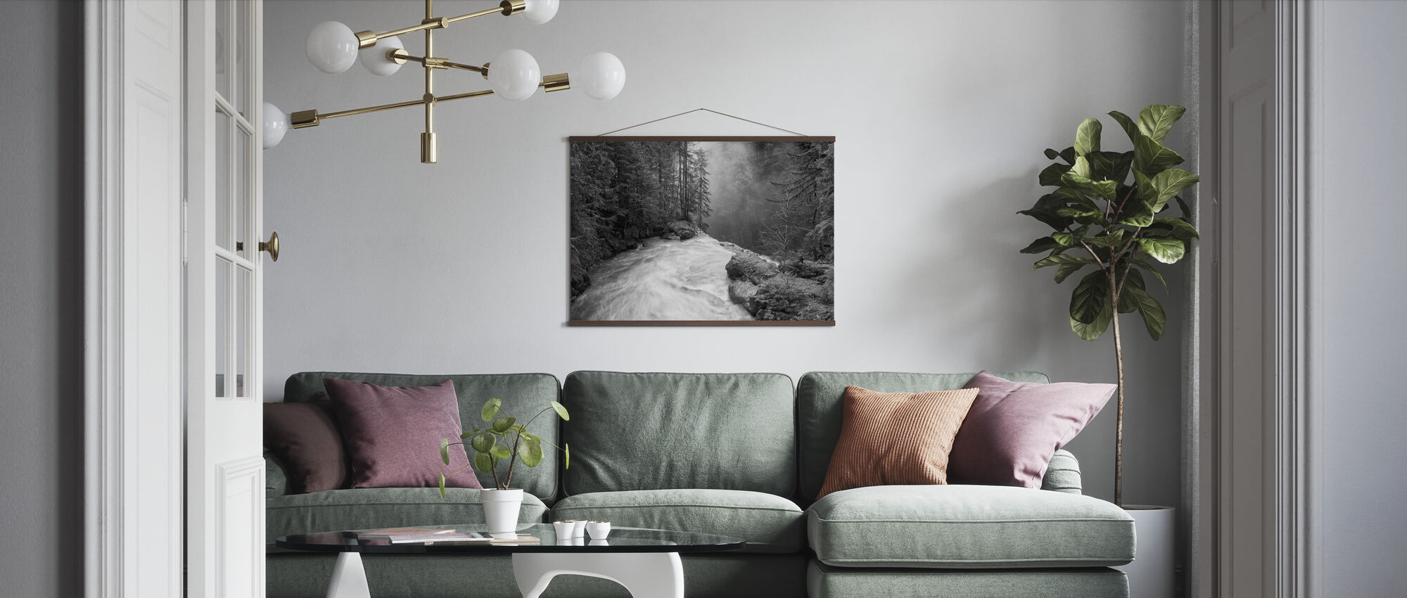 Over the Falls - Poster - Living Room