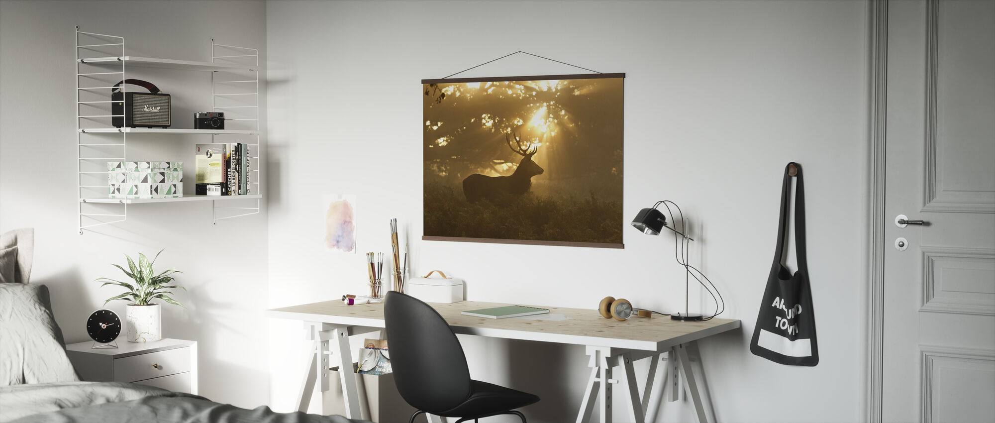 Ghost of the Forest - Poster - Office