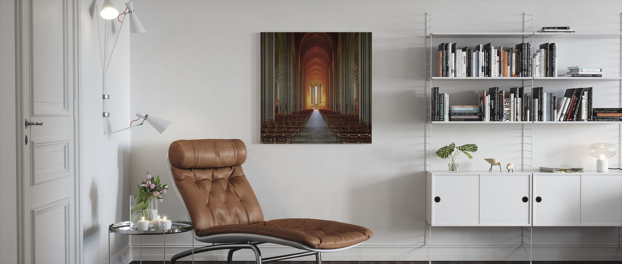 Holy Light - Canvas print - Living Room