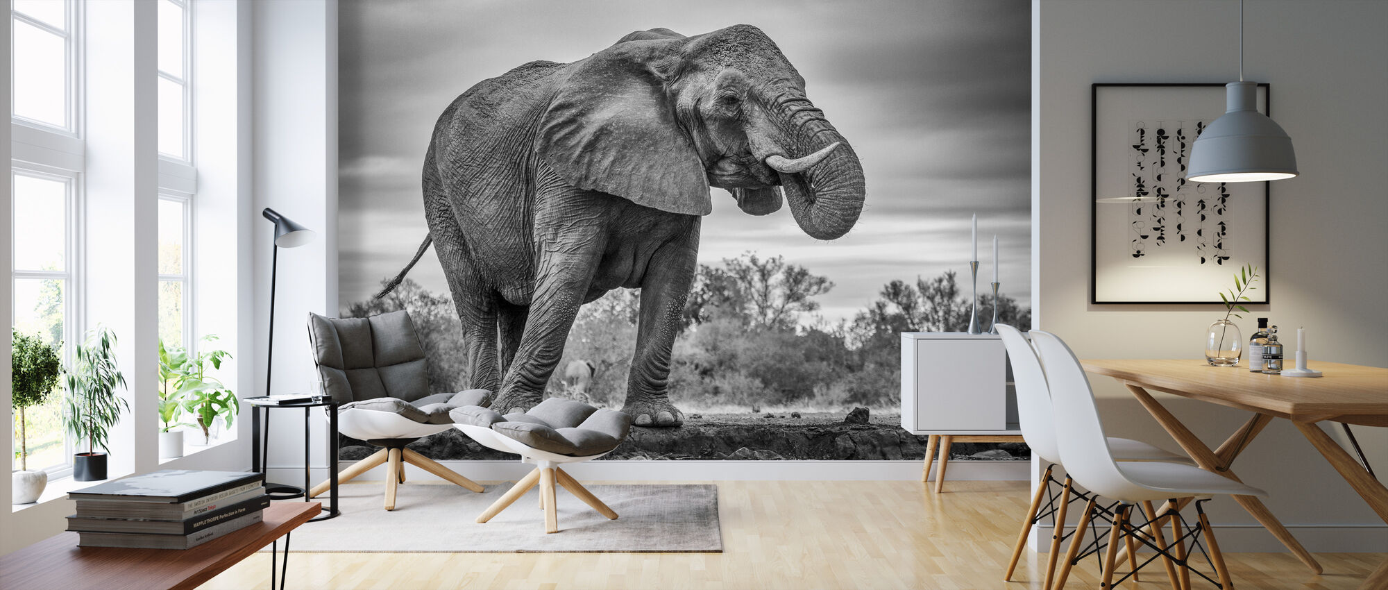 Standing Proud - Wallpaper - Living Room
