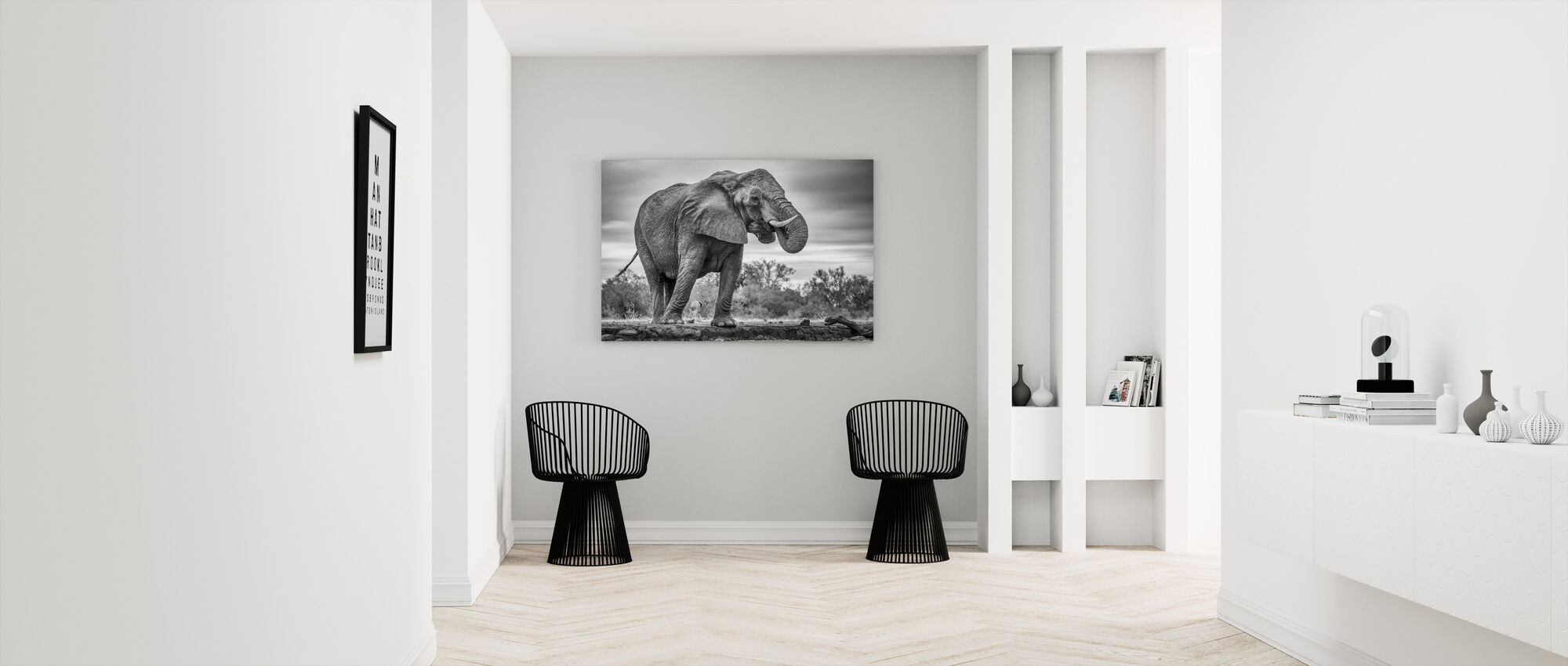 Staand Trots - Canvas print - Gang