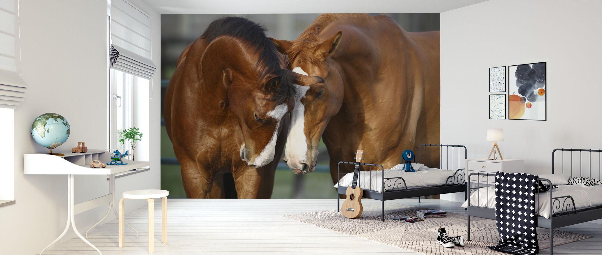 Hester i kjærlighet - Tapet - Barnerom