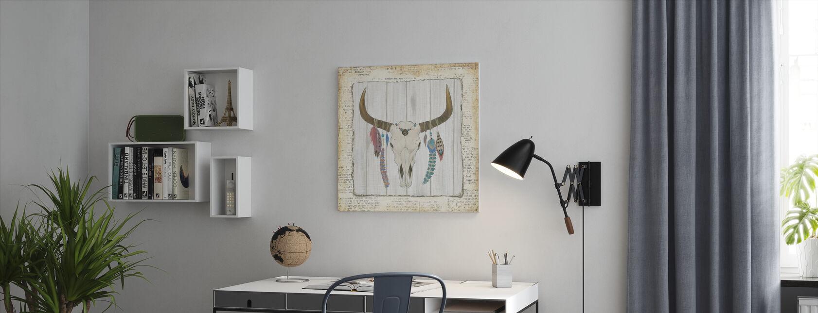 Boheemse rijzende - Canvas print - Kantoor