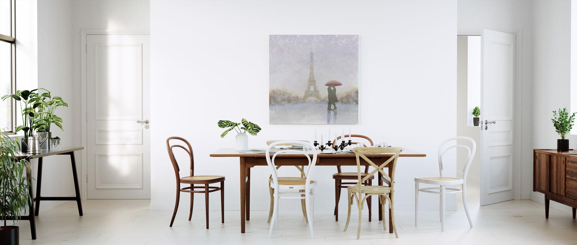 Eiffel Romance - Canvas print - Kitchen
