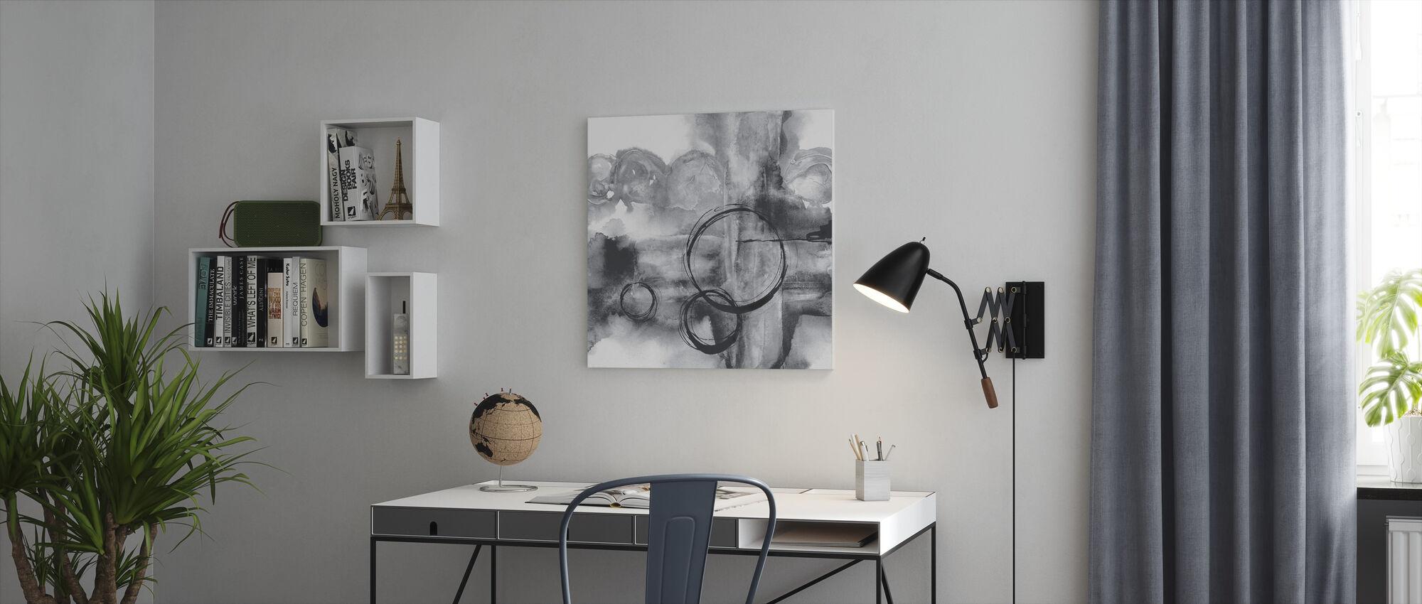 Full sirkel II - Lerretsbilde - Kontor