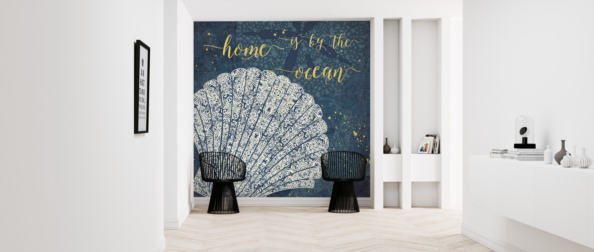 Home is by the Ocean - Wallpaper - Hallway