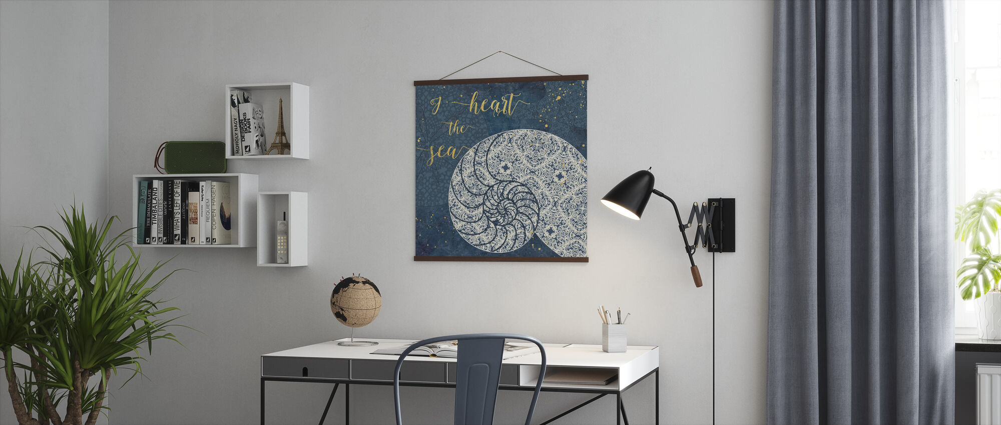 I Heart the Sea - Poster - Office