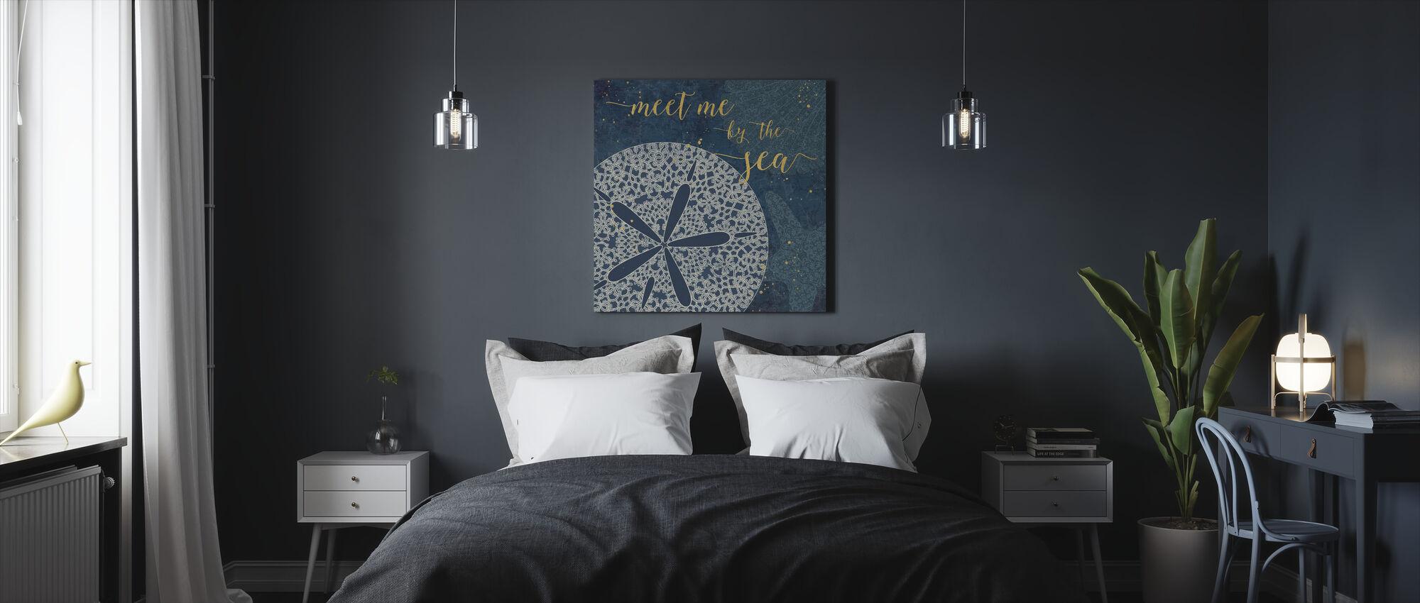 Ontmoet mij aan de zee - Canvas print - Slaapkamer