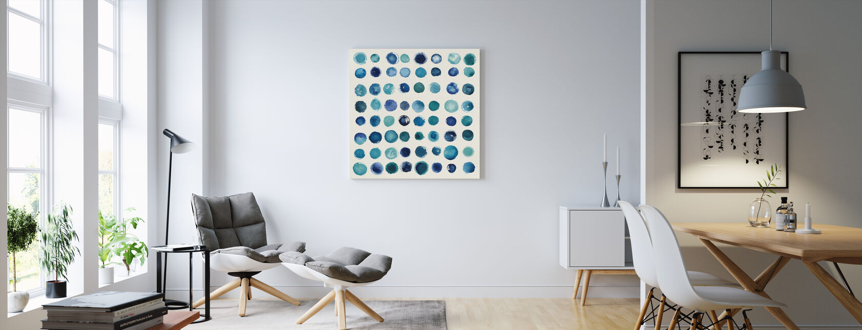Spot of Rain - Canvas print - Living Room