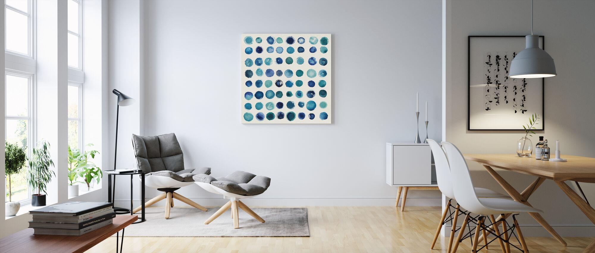 Spot of Rain - Canvas print - Living Room