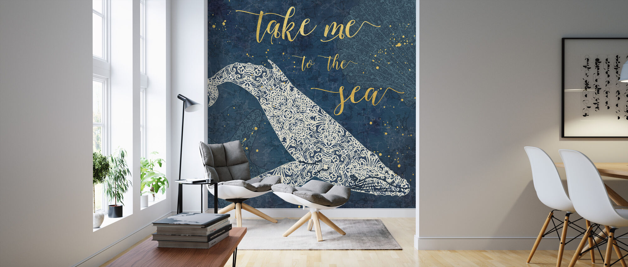 Take Me to the Sea - Wallpaper - Living Room